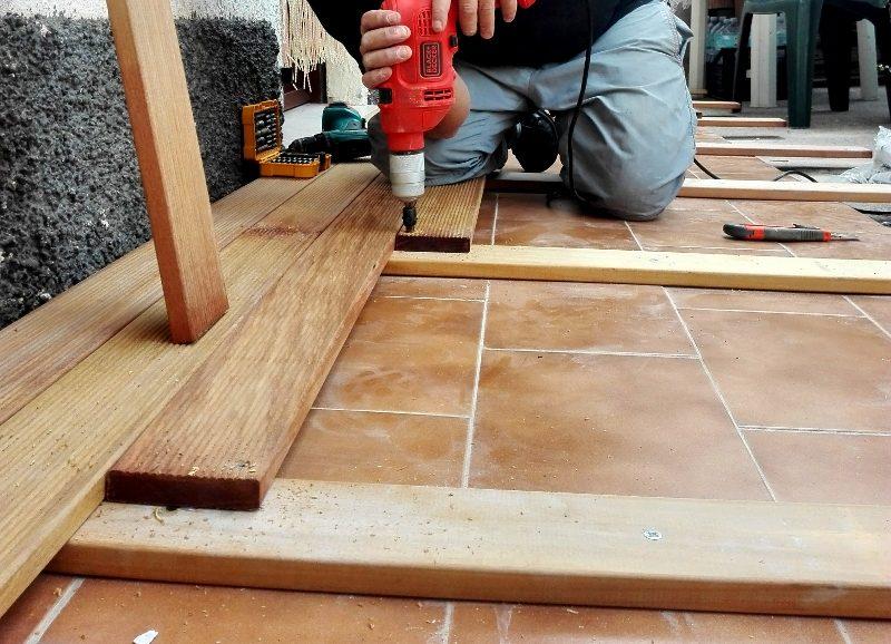 pavimento legno duro per esterno